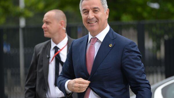 Prezident Černé Hory Milo Djukanovič - Sputnik Česká republika