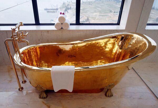 Zlatý sen: podívejte se na pohádkový hotel ve Vietnamu - Sputnik Česká republika