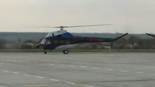 Byl odzkoušen první ukrajinský vrtulník - Sputnik Česká republika