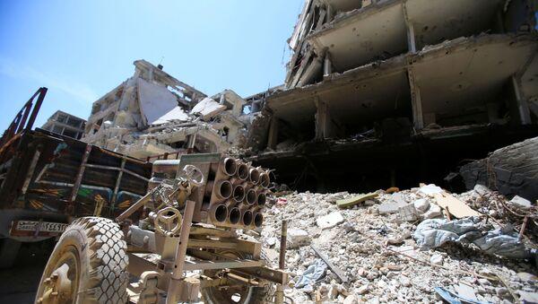 Dúma. Sýrie. Ilustrační foto - Sputnik Česká republika