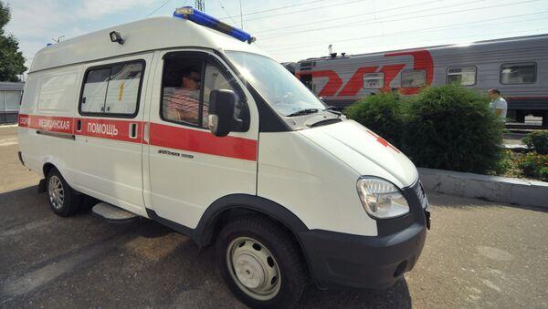 Ambulance. Ilustrační foto - Sputnik Česká republika