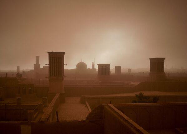 Písečná apokalypsa v Íránu - Sputnik Česká republika