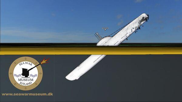 Hitlerová ponorka U-3523 byla objevena nedaleko od dánského pobřeží - Sputnik Česká republika