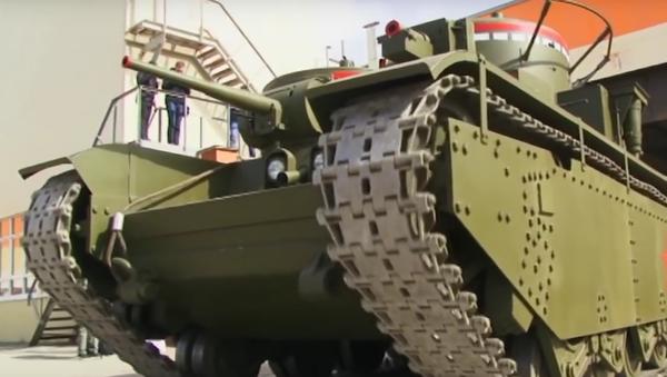 Na Uralu restaurovali nejmocnější tank světa - Sputnik Česká republika
