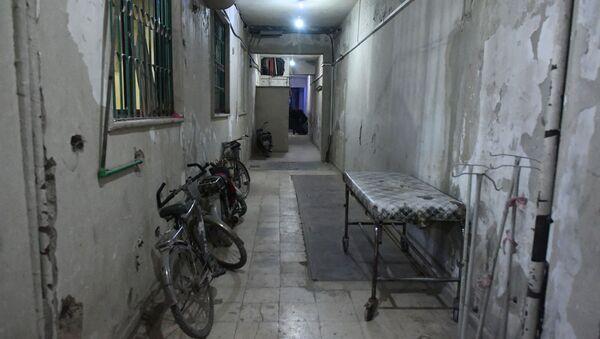 Nemocnice v Dúmě - Sputnik Česká republika