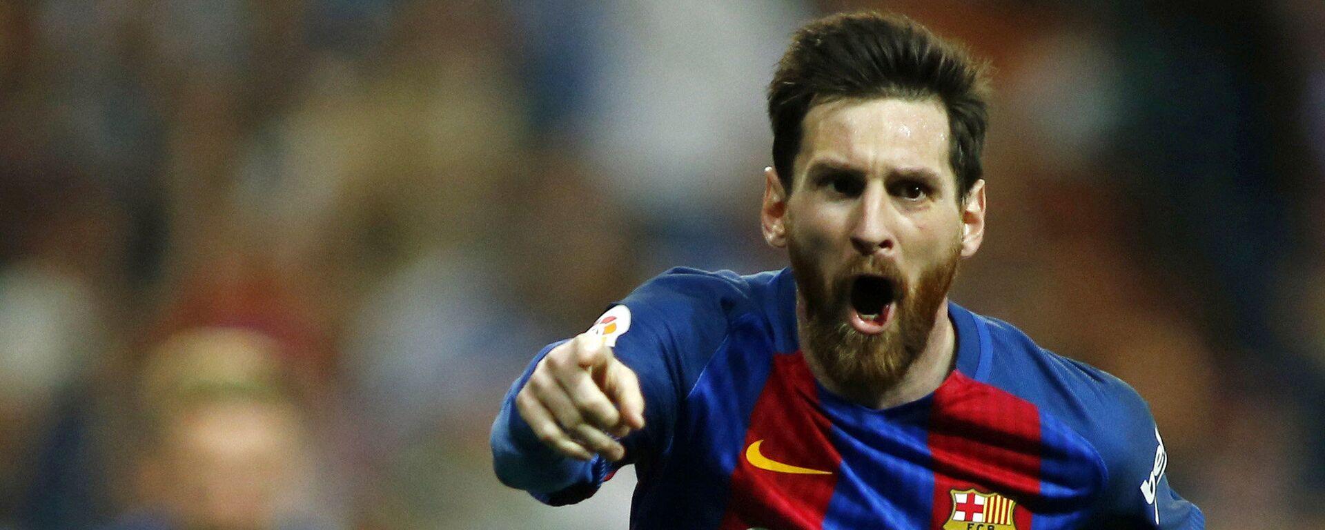 Hráč Barcelony Lionel Messi - Sputnik Česká republika, 1920, 08.08.2021