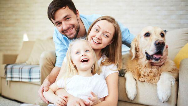 Šťastná rodina - Sputnik Česká republika