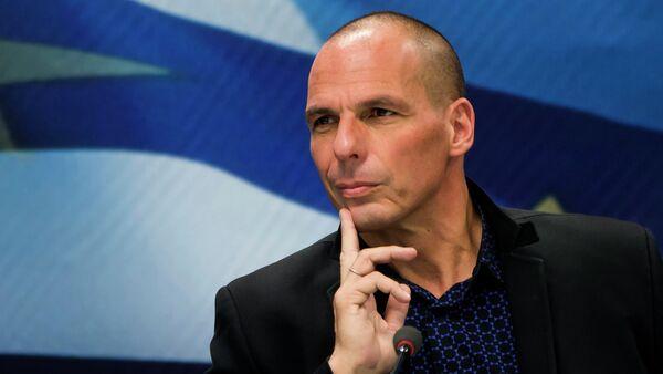 Janis Varoufakis - Sputnik Česká republika