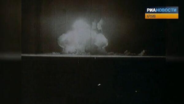 Archiv: první americká atomová bomba - Sputnik Česká republika