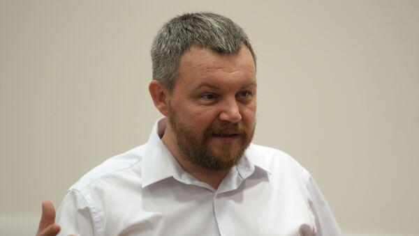 Předseda Lidové rady Doněcké lidové republiky Andrej Purgin - Sputnik Česká republika