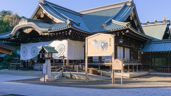 Svatyně Jasukuni v Tokiu - Sputnik Česká republika