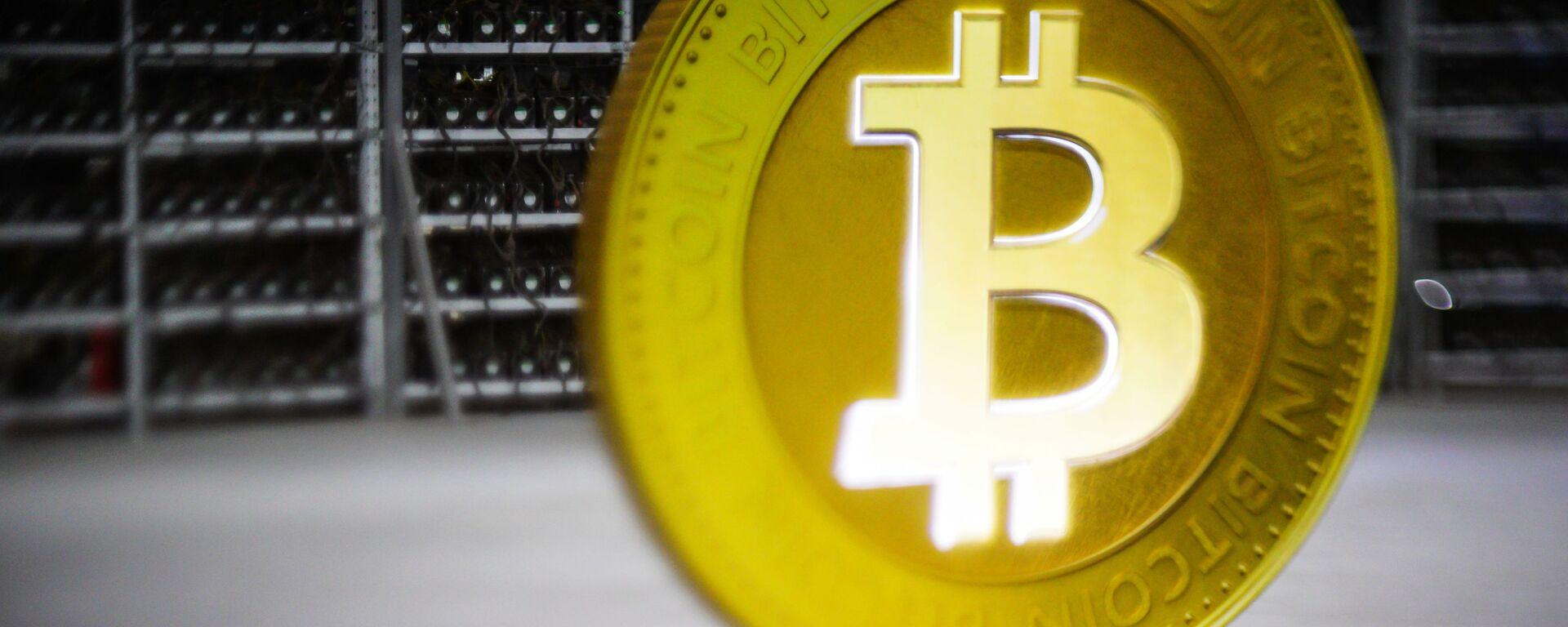 Bitcoin - Sputnik Česká republika, 1920, 23.08.2021