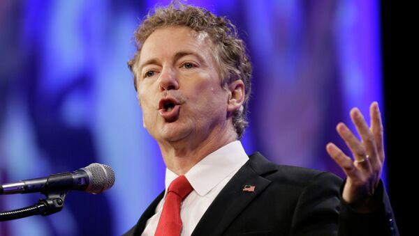Člen Kongresu USA za Republikánskou stranu Rand Paul - Sputnik Česká republika