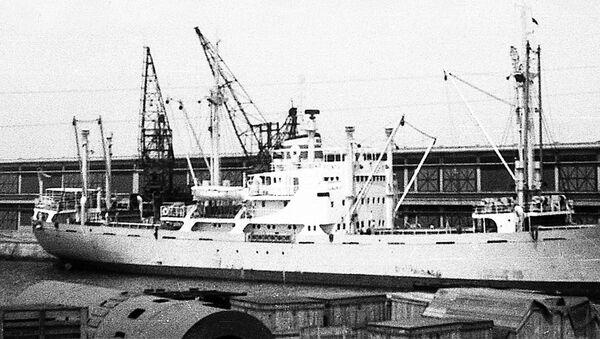 Československá loď Pionýr, přístav Constanța, 1961 - Sputnik Česká republika