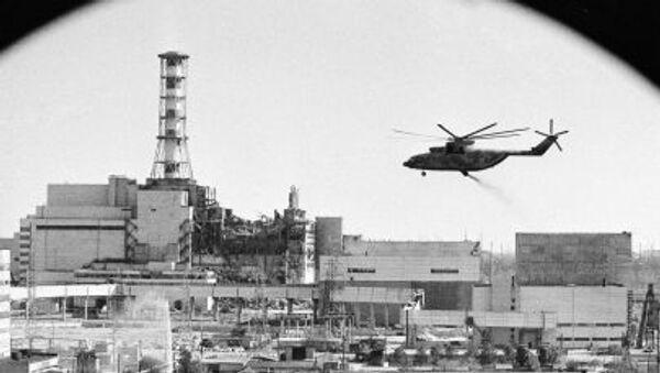 Dezaktivace Černobylské jaderné elektrárny. Historické foto - Sputnik Česká republika
