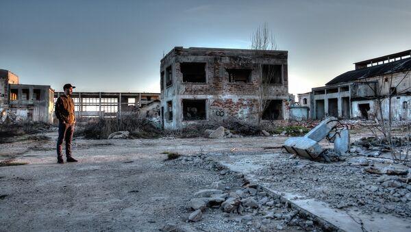 Zanedbané území v okolí Černobylské elektrárny - Sputnik Česká republika