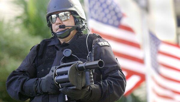 Americký policista - Sputnik Česká republika
