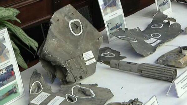 Úlomky raket USA v Sýrii - Sputnik Česká republika