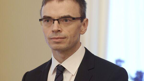 Estonský ministr zahraničí Sven Mikser - Sputnik Česká republika