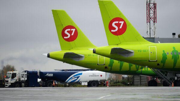 Letadla společnosti S7 Airlines - Sputnik Česká republika