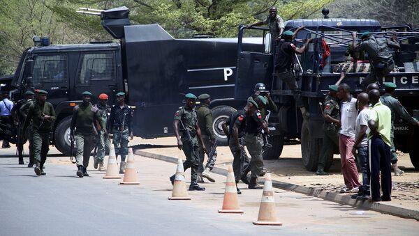 Nigerijské bezpečnostní oddíly (ilustrační foto) - Sputnik Česká republika