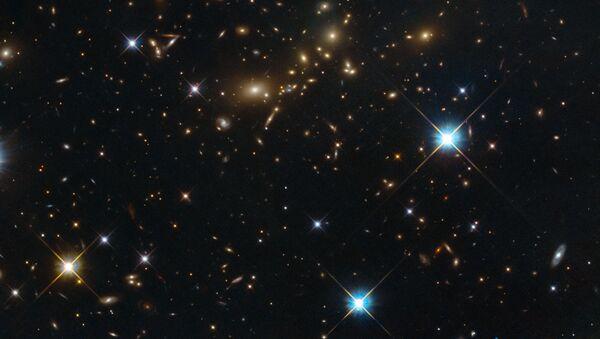 Noční obloha. Ilustrační foto - Sputnik Česká republika