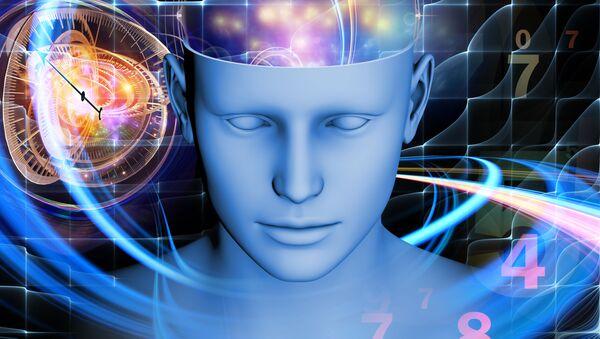 Umělecké zobrazení mozku člověka - Sputnik Česká republika