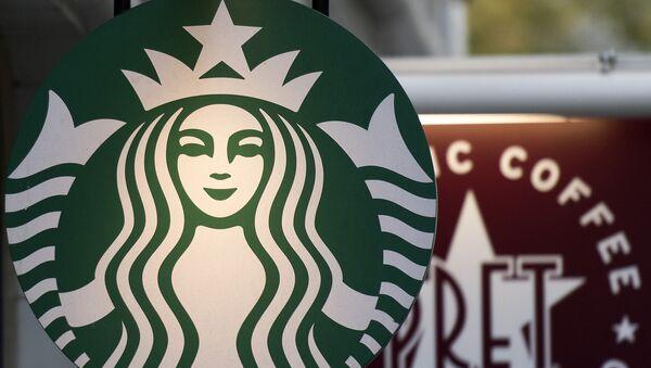 Logo kaváren Starbucks - Sputnik Česká republika