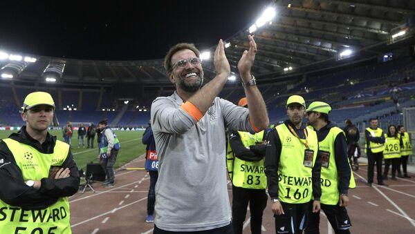Jurgen Klopp, trenér fotbalového Liverpoolu - Sputnik Česká republika