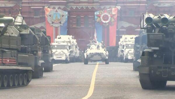 Hlavní novinky generálních zkoušek Přehlídky vítězství - Sputnik Česká republika