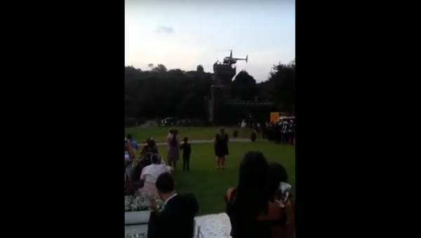 Na svatbě v Brazílii spadl vrtulník s nevěstou - Sputnik Česká republika