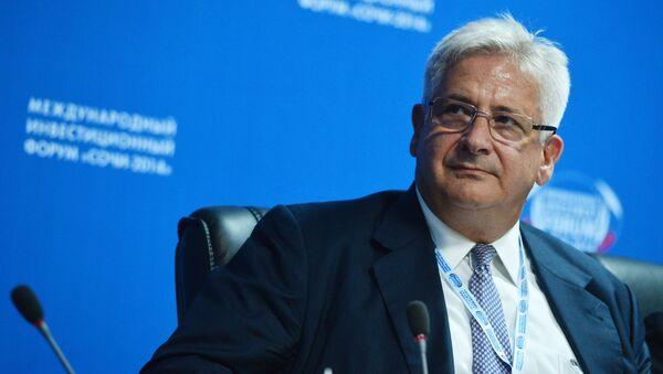 Prezident Americké obchodní komory v Rusku (AmCham) Alexis Rodzjanko - Sputnik Česká republika