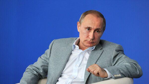 Vladimir Putin - Sputnik Česká republika