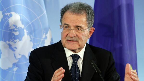 Bývalý předseda Evropské komise a bývalý premiér Itálie Romano Prodi - Sputnik Česká republika