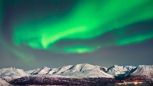 Polární záře v Arktidě - Sputnik Česká republika