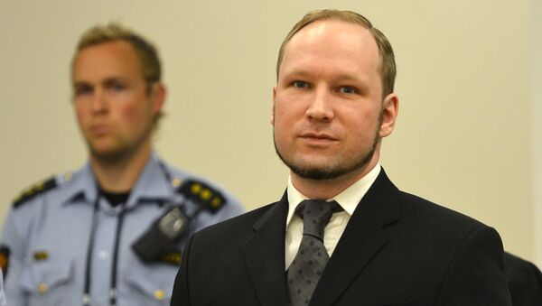 Anders Behring Breivik  - Sputnik Česká republika