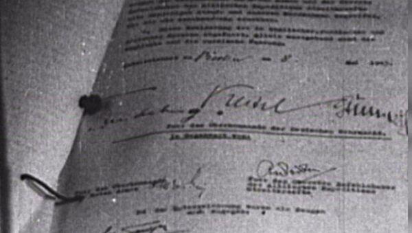 Jak to bylo. Podepsání aktu bezpodmínečné kapitulace Německa - Sputnik Česká republika