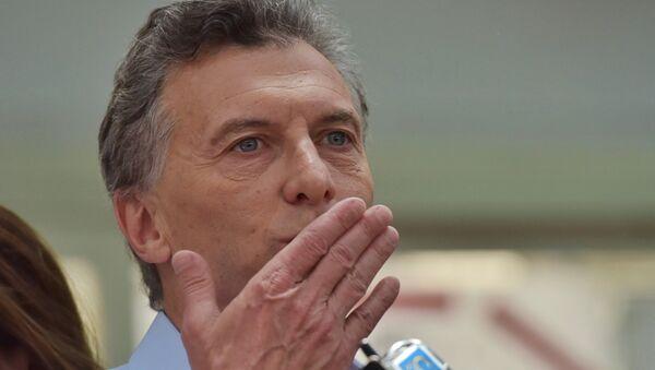 Argentinský prezident Mauricio Macri - Sputnik Česká republika
