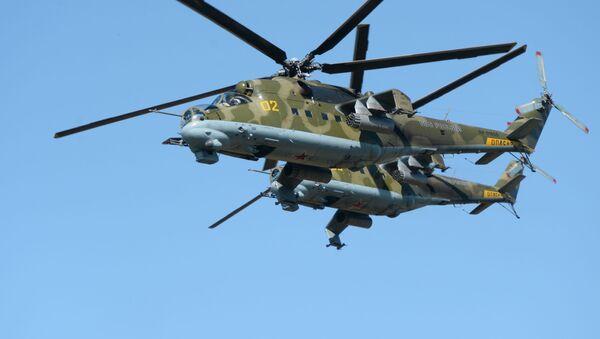 Ruské vrtulníky Mi-24 - Sputnik Česká republika