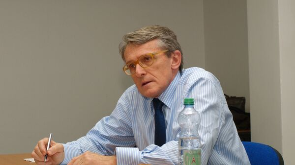 Politolog a analytik Petr Robejšek - Sputnik Česká republika
