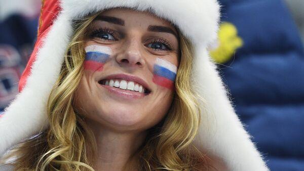 A Russian fan (File) - Sputnik Česká republika