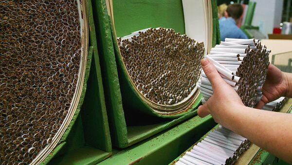 Tabák. Ilustrační foto - Sputnik Česká republika