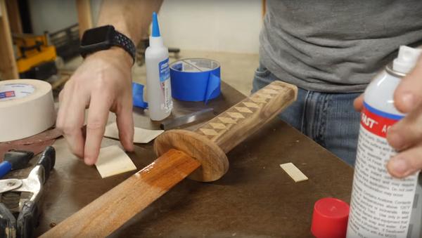 Jak udělat katanu ze dřeva - Sputnik Česká republika