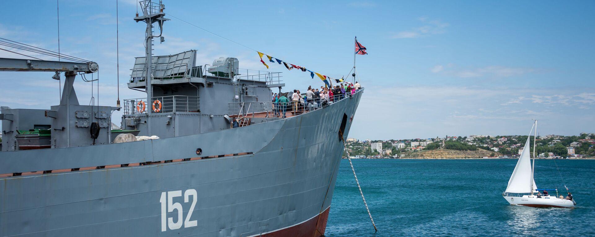 Oslavy 235letí Černomořského loďstva v Sevastopolu - Sputnik Česká republika, 1920, 20.09.2021