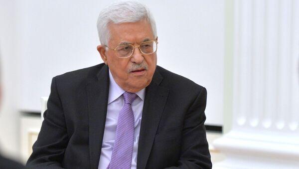 Hlava Palestinské autonomie Mahmúd Abbás - Sputnik Česká republika