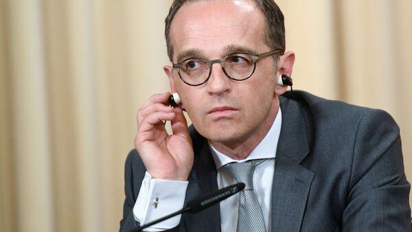 Ministr zahraničních věcí Spolkové republiky Německo Heiko Maas - Sputnik Česká republika