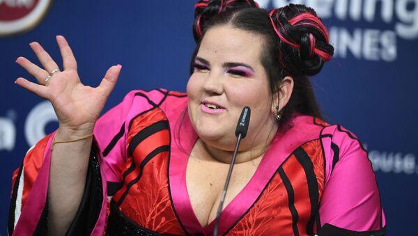 Vítězka Eurovize, izraelská zpěvačka Netta Barzilaiová - Sputnik Česká republika