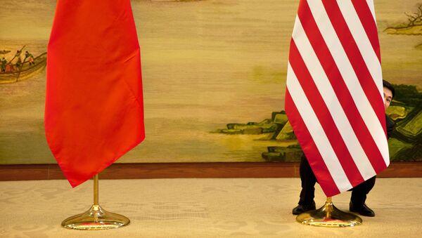 Čína, USA - Sputnik Česká republika
