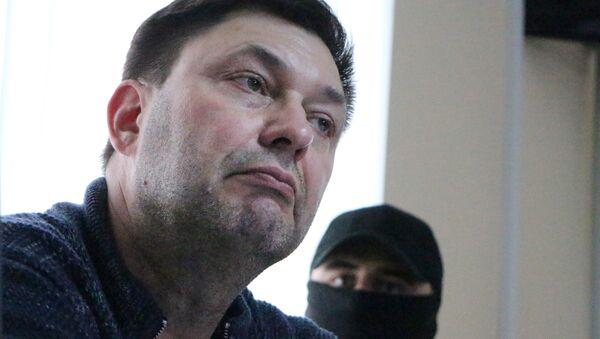 Ředitel portálu RIA Novosti Ukrajina Kirill Vyšinský - Sputnik Česká republika
