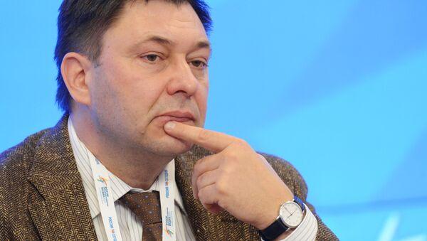 Šéfredaktor webu RIA Novosti Ukrajina Kirill Vyšinský - Sputnik Česká republika